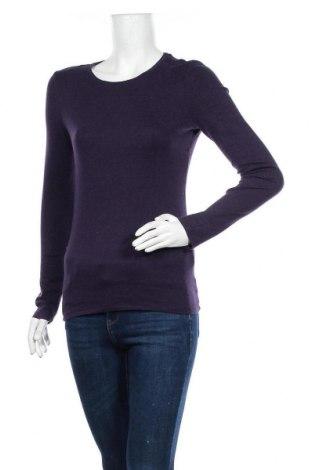 Дамска блуза A New Day, Размер M, Цвят Лилав, 58% памук, 39% модал, 3% еластан, Цена 15,17лв.