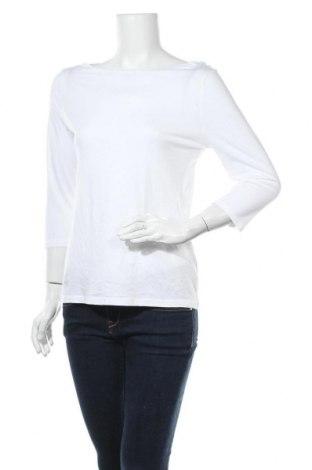 Дамска блуза A New Day, Размер S, Цвят Бял, 60% памук, 40% модал, Цена 17,01лв.