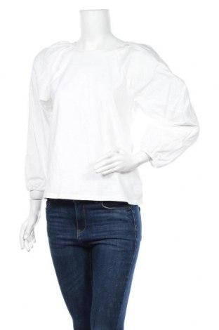 Дамска блуза A New Day, Размер S, Цвят Бял, Памук, Цена 30,24лв.