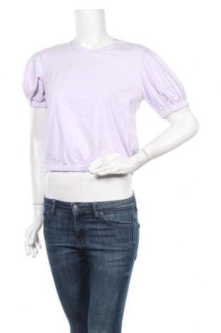 Дамска блуза A New Day, Размер M, Цвят Лилав, 95% памук, 5% еластан, Цена 20,58лв.