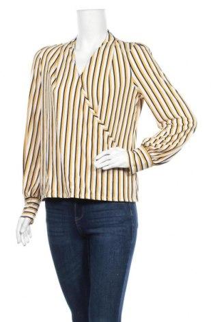 Дамска блуза Adrianna Papell, Размер M, Цвят Екрю, 95% полиестер, 5% еластан, Цена 9,98лв.