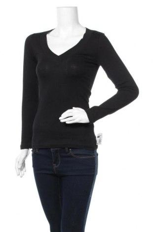 Γυναικεία μπλούζα Ambiance Apparel, Μέγεθος S, Χρώμα Μαύρο, 98% βαμβάκι, 2% ελαστάνη, Τιμή 13,19€