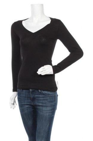 Γυναικεία μπλούζα Ambiance Apparel, Μέγεθος S, Χρώμα Μαύρο, 95% βαμβάκι, 5% ελαστάνη, Τιμή 6,43€