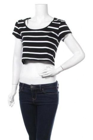 Γυναικεία μπλούζα Ambiance Apparel, Μέγεθος L, Χρώμα Μαύρο, 95% βαμβάκι, 5% ελαστάνη, Τιμή 6,82€
