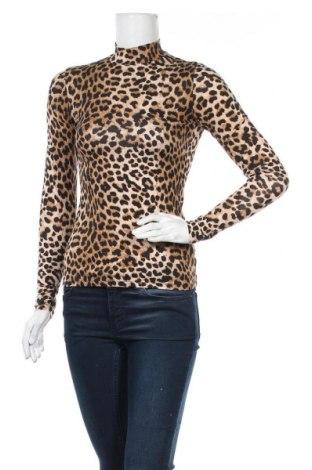 Γυναικεία μπλούζα Amisu, Μέγεθος S, Χρώμα Καφέ, 95% βισκόζη, 5% ελαστάνη, Τιμή 11,69€