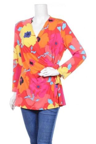Дамска блуза Anne Klein, Размер XL, Цвят Многоцветен, 95% полиестер, 5% еластан, Цена 35,91лв.