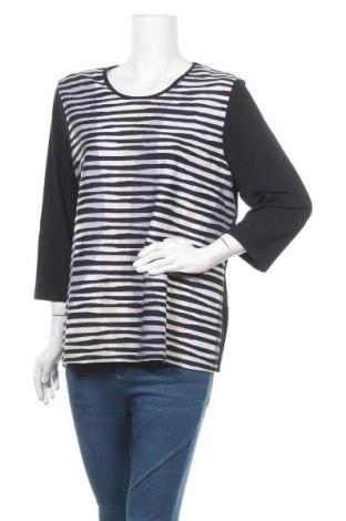Дамска блуза Barbara Lebek, Размер XXL, Цвят Многоцветен, 96% вискоза, 4% еластан, Цена 21,42лв.