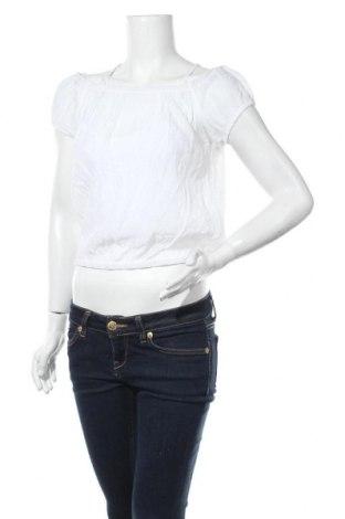 Дамска блуза Bebe, Размер M, Цвят Бял, 78% вискоза, 22% полиестер, Цена 6,83лв.