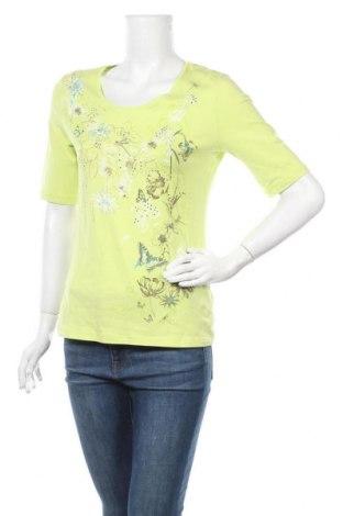 Дамска блуза Betty Barclay, Размер L, Цвят Зелен, 92% памук, 8% еластан, Цена 27,00лв.