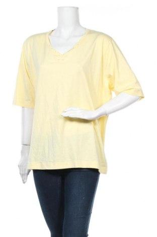 Дамска блуза Bexleys, Размер XXL, Цвят Жълт, 95% памук, 5% еластан, Цена 13,39лв.