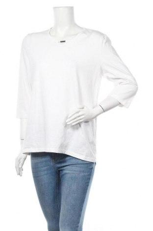 Дамска блуза Bexleys, Размер L, Цвят Бял, 95% памук, 5% еластан, Цена 17,01лв.
