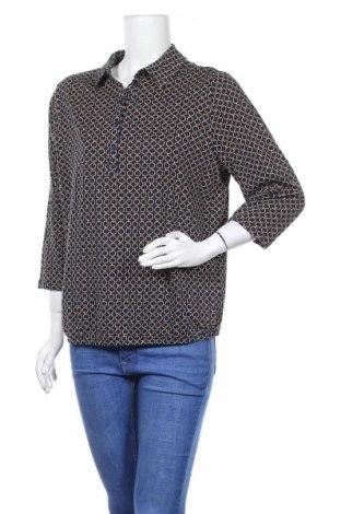 Дамска блуза Bonita, Размер L, Цвят Многоцветен, 50% памук, 50% модал, Цена 16,80лв.