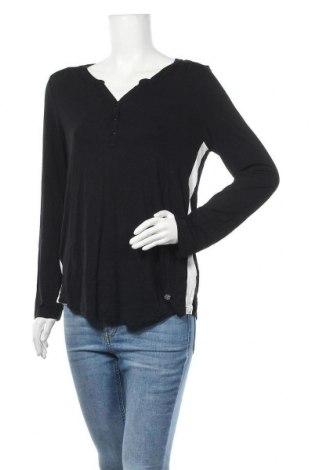 Дамска блуза Bruno Banani, Размер L, Цвят Черен, 95% вискоза, 5% еластан, Цена 19,95лв.