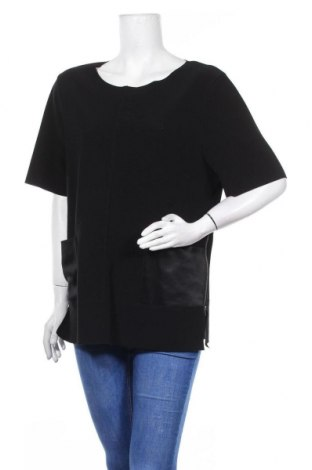 Дамска блуза By Malene Birger, Размер L, Цвят Черен, 96% полиестер, 4% еластан, Цена 41,00лв.