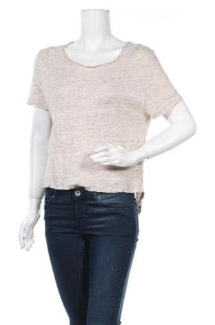 Дамска блуза By Malene Birger, Размер XS, Цвят Бежов, Лен, Цена 36,96лв.