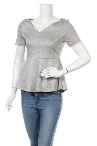 Дамска блуза COS, Размер XS, Цвят Сив, 57% памук, 43% вискоза, Цена 28,98лв.