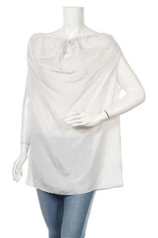 Γυναικεία μπλούζα COS, Μέγεθος L, Χρώμα Γκρί, 78% μετάξι, 11% βαμβάκι, 11% λινό, Τιμή 26,08€