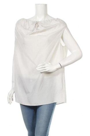 Дамска блуза COS, Размер S, Цвят Сив, 78% коприна, 11% памук, 11% лен, Цена 39,06лв.