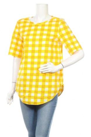 Дамска блуза COS, Размер M, Цвят Жълт, Памук, Цена 24,36лв.