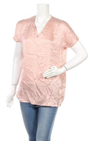 Дамска блуза COS, Размер S, Цвят Розов, Коприна, Цена 18,43лв.