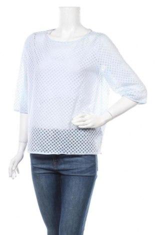 Дамска блуза COS, Размер M, Цвят Син, 63% памук, 37% полиестер, Цена 30,74лв.