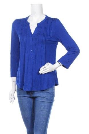 Дамска блуза Cable & Gauge, Размер M, Цвят Син, 95% вискоза, 5% еластан, Цена 16,07лв.
