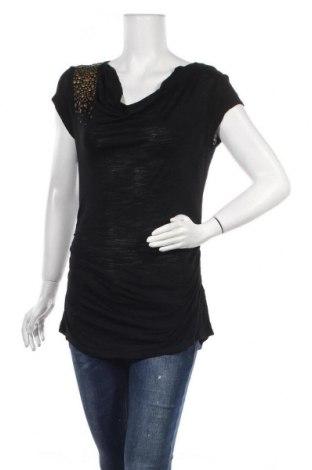 Дамска блуза Cable & Gauge, Размер S, Цвят Черен, Вискоза, Цена 15,75лв.