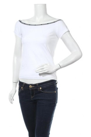 Дамска блуза Calvin Klein Jeans, Размер L, Цвят Бял, 95% памук, 5% еластан, Цена 51,75лв.