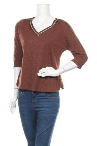 Дамска блуза Camaieu, Размер M, Цвят Кафяв, Цена 12,50лв.