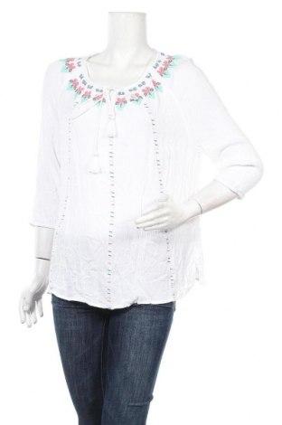 Дамска блуза Canda, Размер XL, Цвят Бял, Вискоза, Цена 16,80лв.