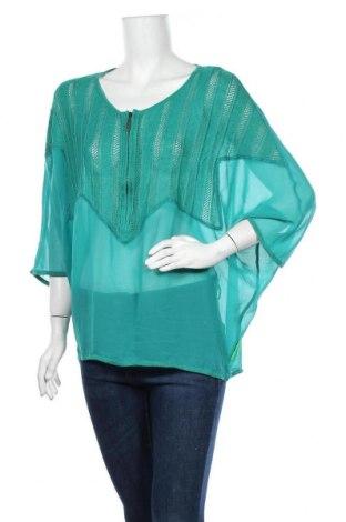 Дамска блуза Carla Du Nord, Размер M, Цвят Син, Цена 3,00лв.