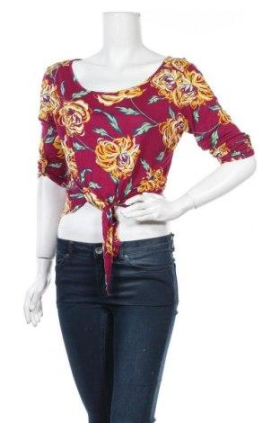 Дамска блуза Charlotte Russe, Размер L, Цвят Многоцветен, Цена 14,28лв.