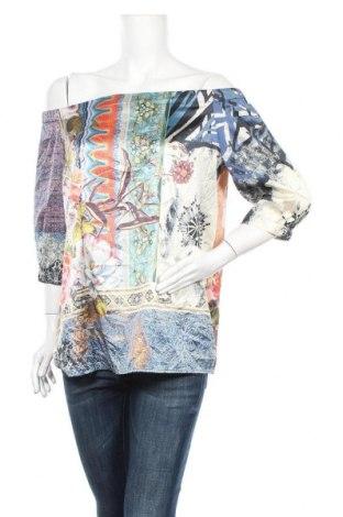 Дамска блуза Chico's, Размер M, Цвят Многоцветен, 96% полиестер, 4% еластан, Цена 17,96лв.