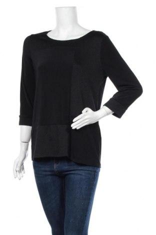 Дамска блуза Chico's, Размер S, Цвят Черен, 96% полиестер, 4% еластан, Цена 37,91лв.
