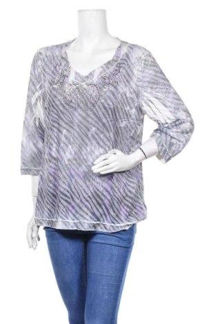 Дамска блуза Chico's, Размер XL, Цвят Многоцветен, 51% полиестер, 49% памук, Цена 23,94лв.