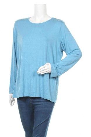 Дамска блуза Chico's, Размер XL, Цвят Син, 93% вискоза, 7% еластан, Цена 27,30лв.