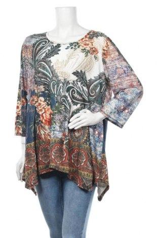 Дамска блуза Chico's, Размер XL, Цвят Многоцветен, 95% полиестер, 5% еластан, Цена 19,11лв.