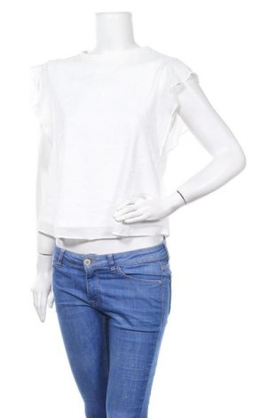 Дамска блуза Clockhouse, Размер M, Цвят Бял, Полиестер, Цена 17,85лв.