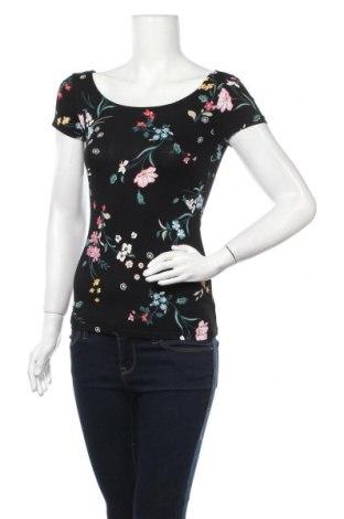 Γυναικεία μπλούζα Clockhouse, Μέγεθος XS, Χρώμα Μαύρο, 95% βαμβάκι, 5% ελαστάνη, Τιμή 11,04€