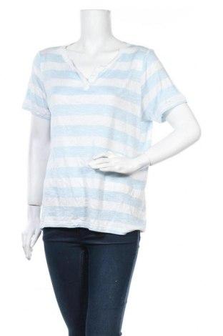 Γυναικεία μπλούζα Collection L, Μέγεθος L, Χρώμα Μπλέ, 82% βισκόζη, 18% πολυεστέρας, Τιμή 6,07€