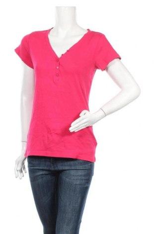 Дамска блуза Colours Of The World, Размер L, Цвят Розов, 95% памук, 5% еластан, Цена 15,96лв.