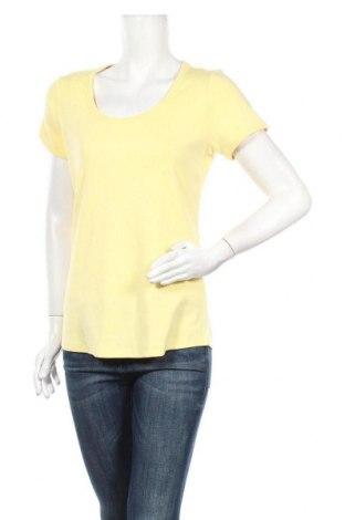 Дамска блуза Colours Of The World, Размер L, Цвят Жълт, Памук, Цена 12,60лв.