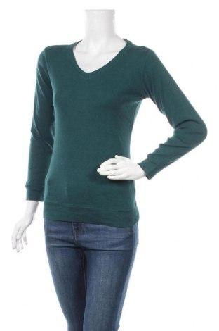 Дамска блуза Colours Of The World, Размер S, Цвят Зелен, Цена 13,97лв.