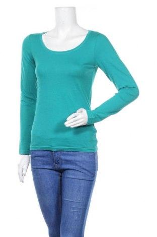 Дамска блуза Colours Of The World, Размер XS, Цвят Зелен, Памук, Цена 15,12лв.