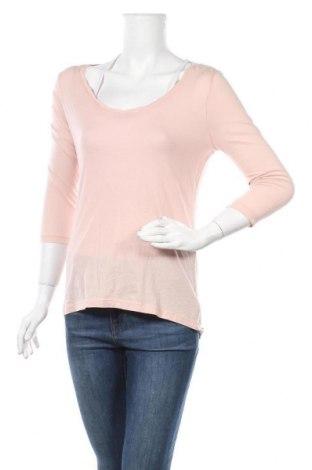 Дамска блуза Cynthia Rowley, Размер S, Цвят Розов, 50% памук, 50% модал, Цена 7,35лв.