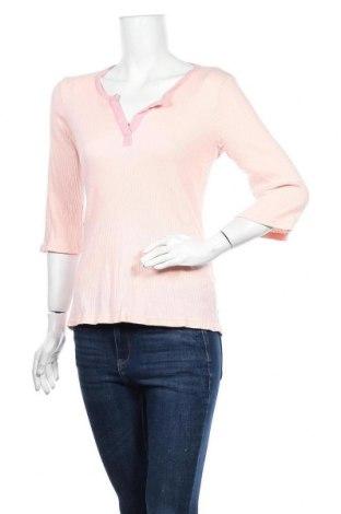 Дамска блуза DKNY, Размер S, Цвят Розов, 58% памук, 38% модал, 4% еластан, Цена 17,85лв.