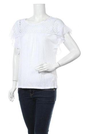 Γυναικεία μπλούζα Defacto, Μέγεθος L, Χρώμα Λευκό, Μοντάλ, Τιμή 7,27€