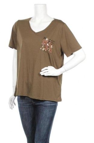 Γυναικεία μπλούζα Defacto, Μέγεθος XXL, Χρώμα Πράσινο, 65% πολυεστέρας, 35% βισκόζη, Τιμή 5,84€