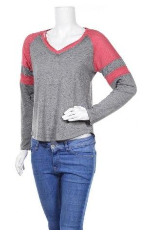 Дамска блуза Derek Heart, Размер L, Цвят Сив, 53% памук, 47% полиестер, Цена 4,73лв.