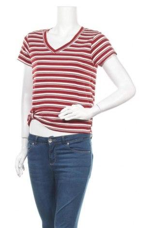 Дамска блуза Derek Heart, Размер L, Цвят Бял, 62% полиестер, 33% вискоза, 5% еластан, Цена 8,93лв.